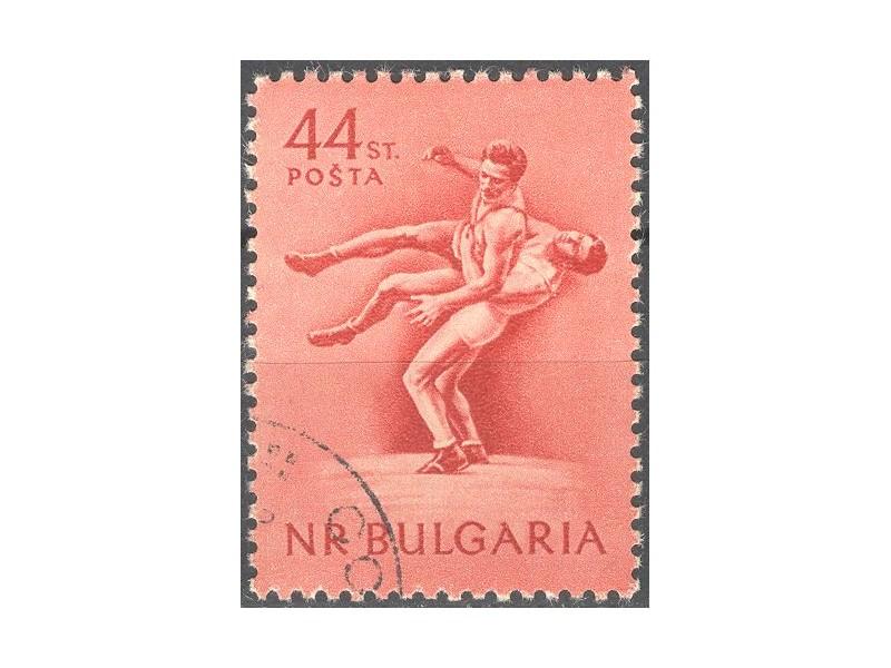 kt412a,  21. dec.1954. NRBulgaria Mi929-o- 1/4