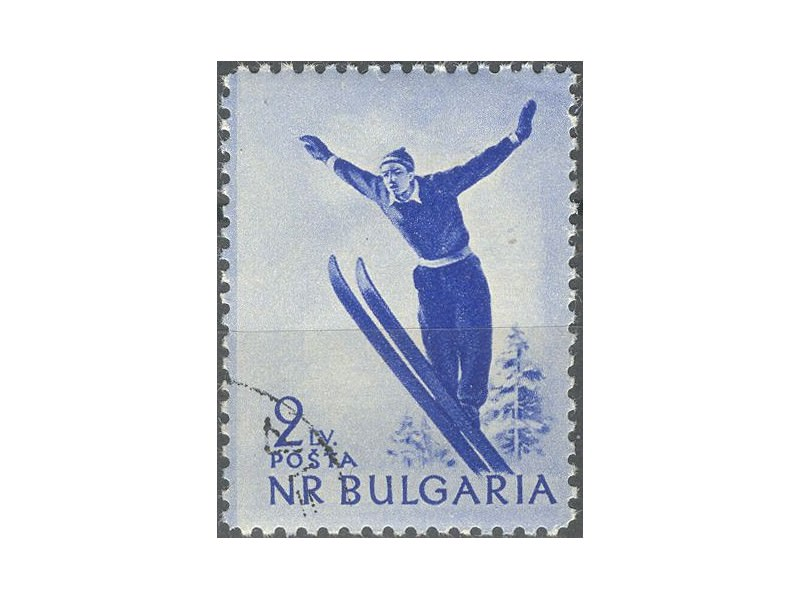 kt412c,  21. dec.1954. NRBulgaria Mi931-o- 1/4