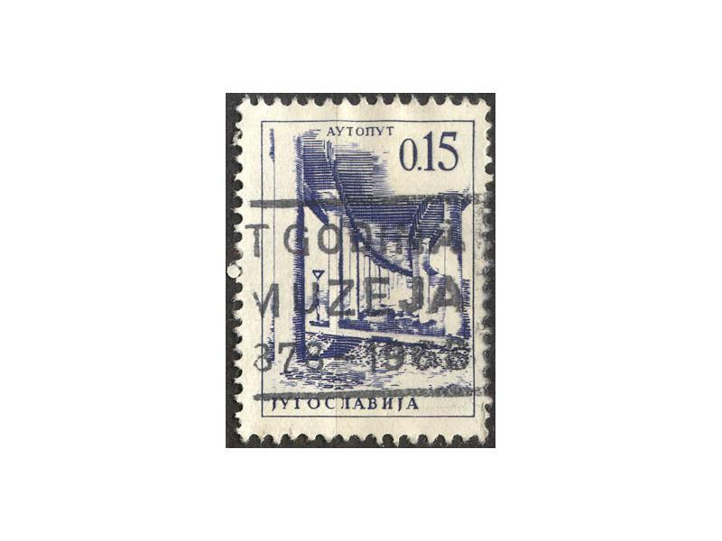 kt495m,  10. jun.1966. Jugoslavija Mi1066(-o-) 1/9
