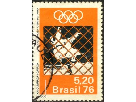 kt700g,  21. maj.1976. CBrasil Mi1531(-o-)1/3