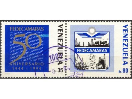 kt741f,  17. jul.1994. Venezuela Mi2841,6(-o-)2/6