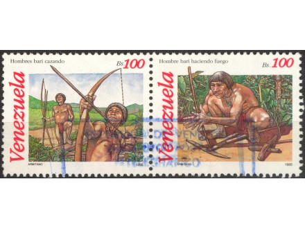 kt741g,  18. okt.1995. Venezuela Mi2928-9(-o-)2/10