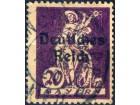 kt907n,  6. apr.1920  DReich Mi122(-o-)F1/20