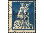 kt907q,  6. apr.1920  DReich Mi123(-o-)F1/20
