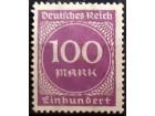 kt948o, mar-aug. 1923 DReich Mi268(**)1/6
