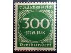 kt948q, mar-aug.1923 DReich Mi270 ** 1/6