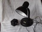 lampa stona halogena crna 12 V