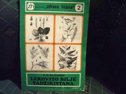 lekovito bilje Tadžikistana, K Hajdarov
