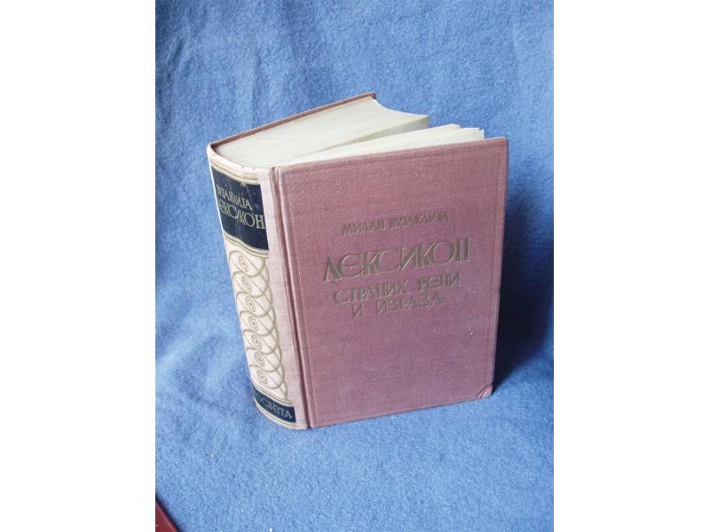 leksikon stranih reči i izraza milan vujakjlija  1961