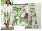 letnje cvetne kapri pantalone