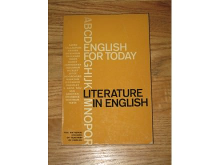 literature in english