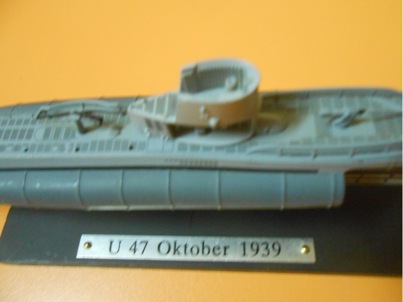 maketa podmornica German submarine U 47 1939. WWII