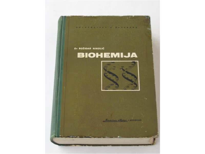 me - BIOHEMIJA - Bozidar Nikolic