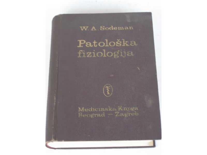 me - PATOLOSKA FIZIOLOGIJA - W. A. Sodeman