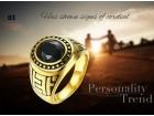 muski prsten gold 316l hiruski celik  83