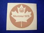 nalepnica Montreal 1976, braon