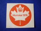 nalepnica Montreal 1976, crvena