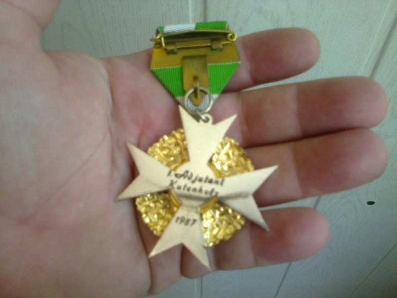 nemacka medalja sa posvetom adjutantu