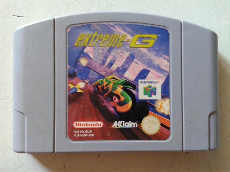 nintendo 64 igrica extreme 6 ispravna sa slika