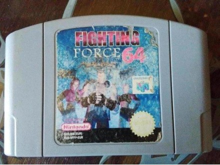 nintendo 64 igrica fighting force 64 isp sa