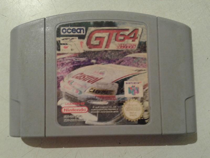 nintendo 64 igrica gt 64 ispravna sa slika