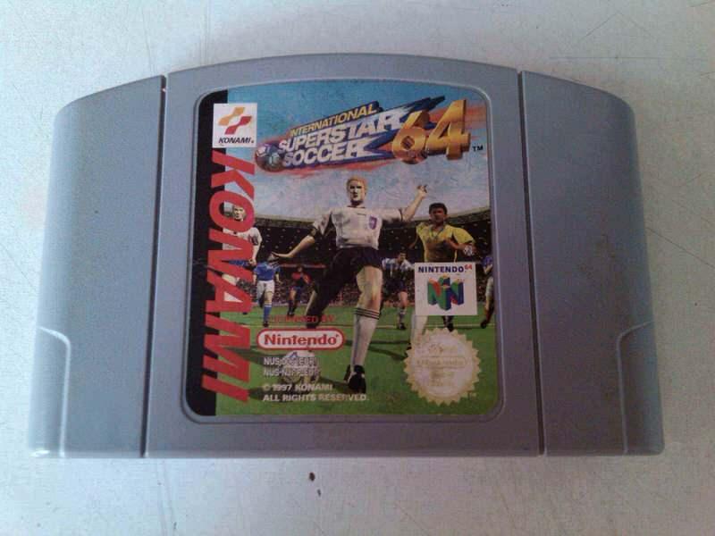 nintendo 64 igrica international superstar soccer 64 is