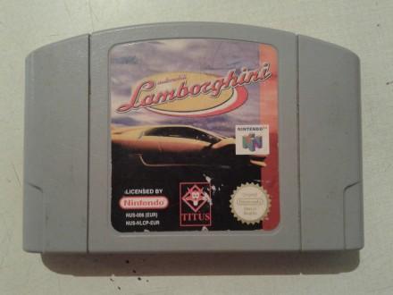 nintendo 64 igrica lamborghini ispravna sa slika