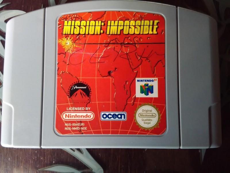 nintendo 64 igrica mission impossib ispr