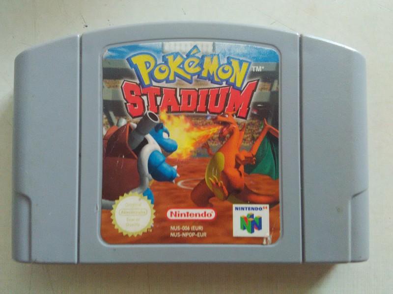 nintendo 64 igrica pokemon ispravan sa slike