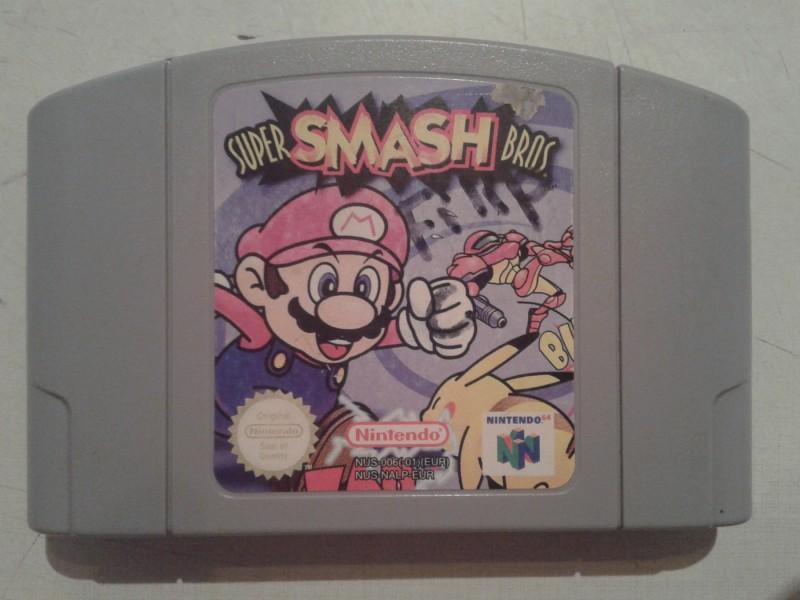 nintendo 64 igrica super smash bros isp (