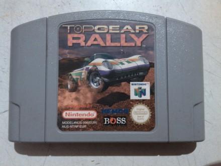 nintendo 64 igrica top gear rally ispravna sa slika