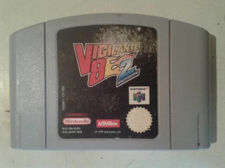 nintendo 64 igrica vigilante 8e2 ispravna sa slika