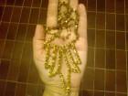 ogrlica boje starog zlata