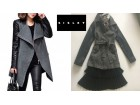 original SISLEY-jakna kaput - sako