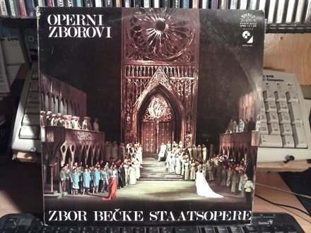 orkestar becke Volksopere - operski zborovi