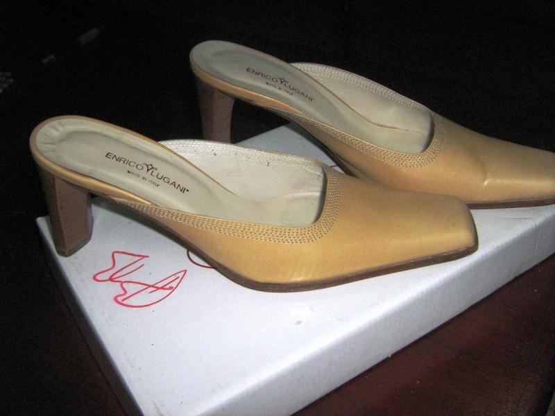 papuce -ENRICO LUGANI -kozne-37-perfektne