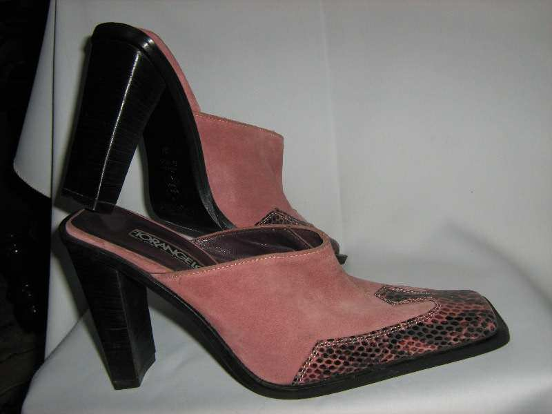 papuce kozne-FIORANGELO -37-nove