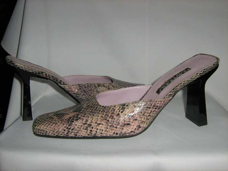 papuce kozne   -FIORANGELO orig.-38..NOVE