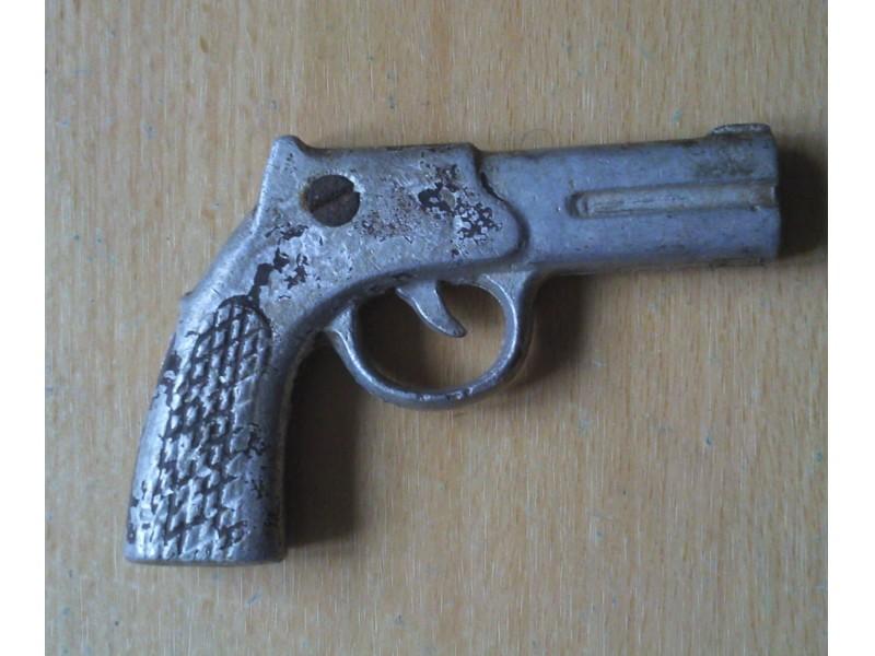 pistolojcic aluminijumski predratna igracka