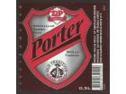 pivska etiketa pivara zrenjanin porter pivo