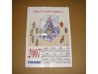 poster Corax, 2007 kalendar