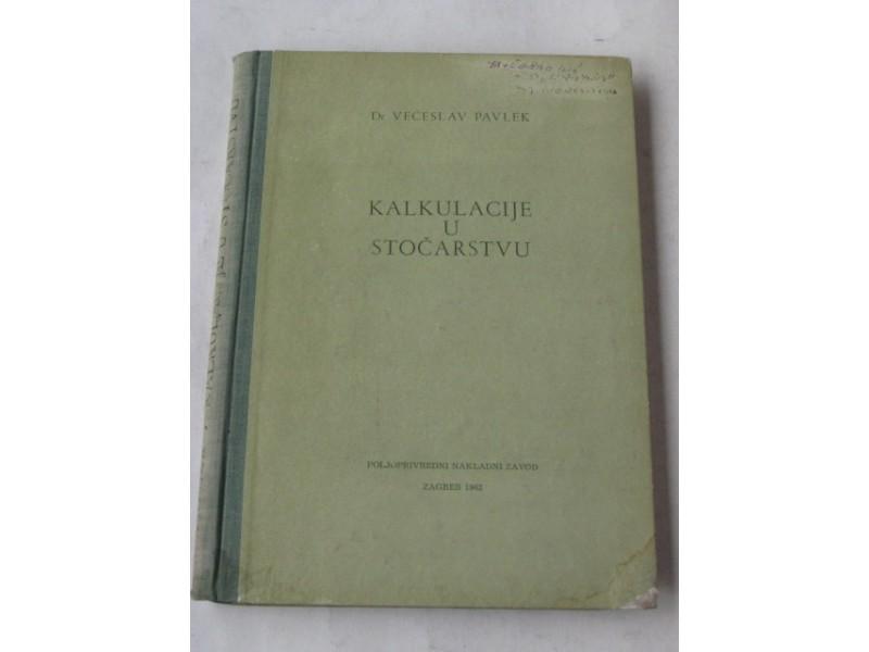 pp - KALKULACIJE U STOCARSTVU - Veceslav Pavlek