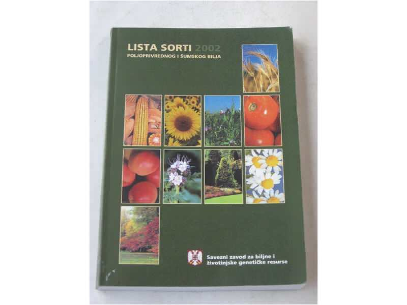 pp - LISTA SORTI poljoprivrednog i sumskog bilja