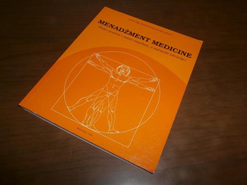 prof. dr. Zivota Radosavljevic - Menadzment medicine
