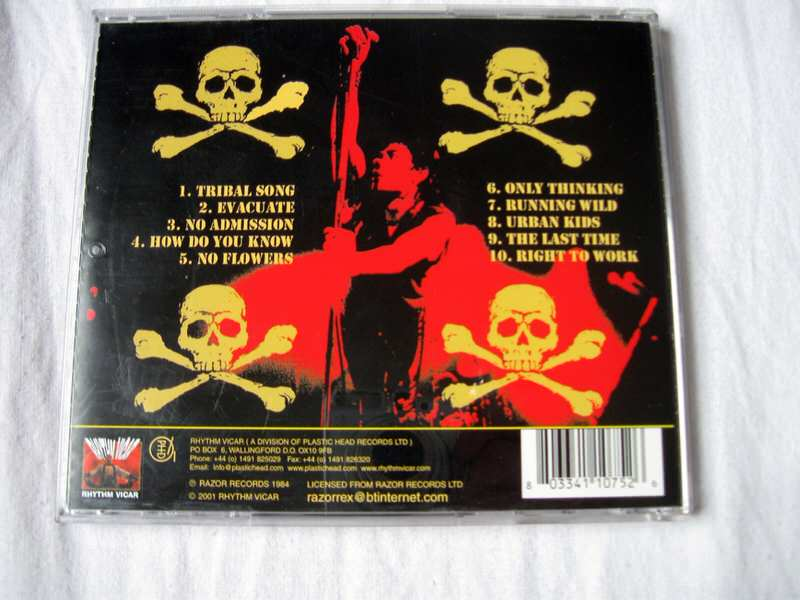 punk CD Chelsea - Live And Well