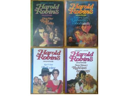 r1 Ljubavni romani - Harold Robins - komplet 4 kom