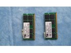 ram memorije 2x1gb . ddr2 za laptop.