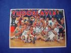 razglednica Yugoslavia, košarkaško zlato 97