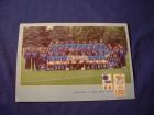 razglednica fudbaleri Italije na UEFA EURO 2000