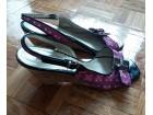 roze-šarene sandale br. 39